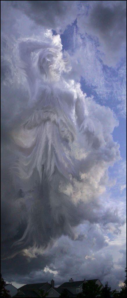 Lady In the Clouds by aRogue.da ©