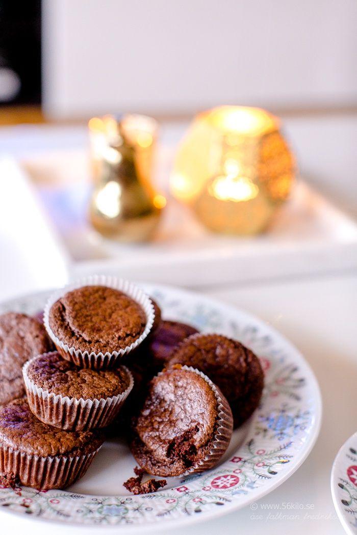 Choklad- och Pepparkaksmuffins Glutenfria, LCHF