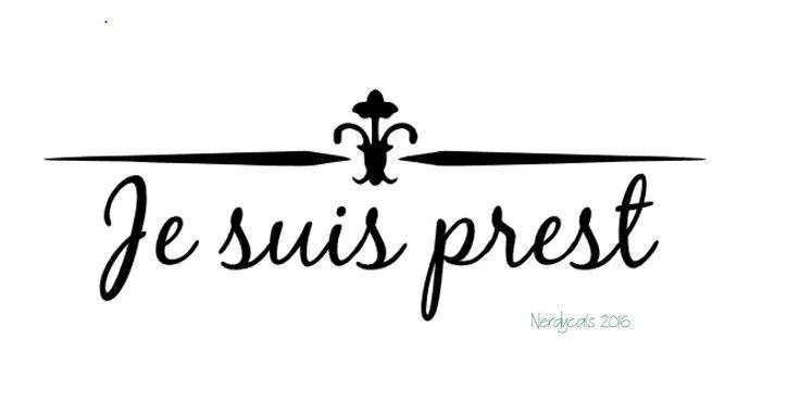 Je Suis Prest, Clan Fraser Motto, Jamie Fraser, Outlander Starz TV Show, Diana Gabaldon, Vinyl Graphic Car Window Decal Sticker by Nerdycals on Etsy