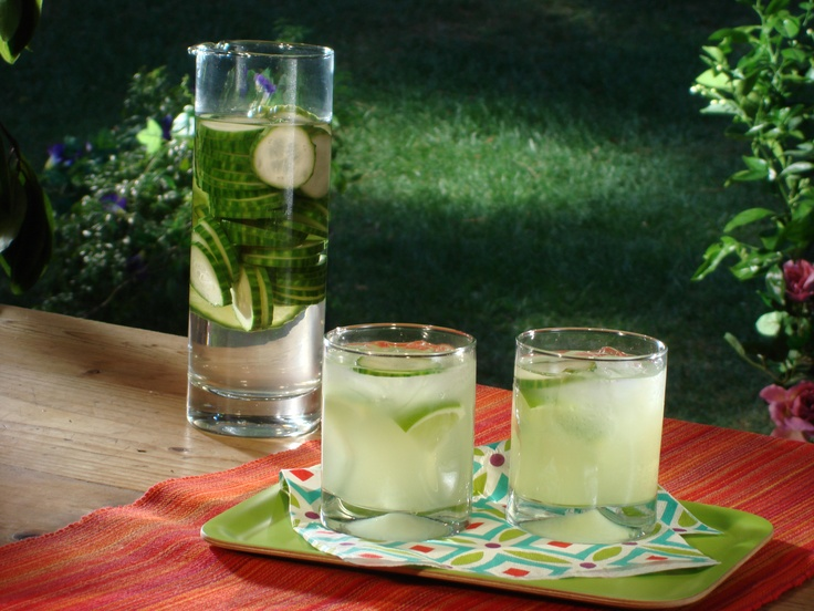 Cucumber Cocktail from FoodNetwork.com | Cucumber cocktail. Fruit drinks alcohol. Drinks alcohol recipes