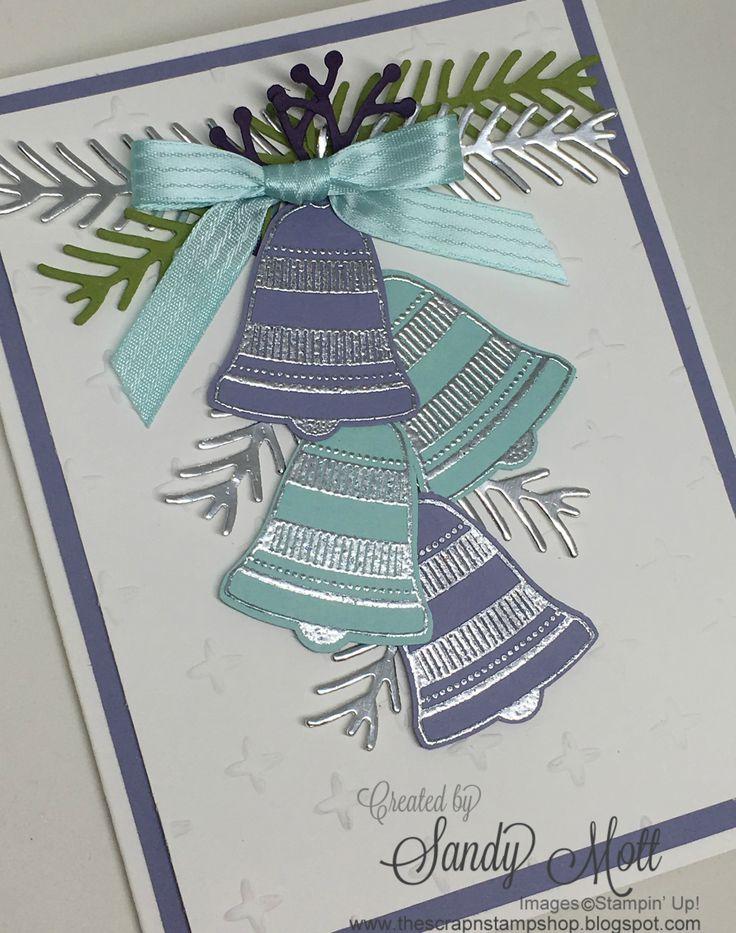 Seasonal Bells for the Creative Circle Design Team October Hop - created by Sandy Mott