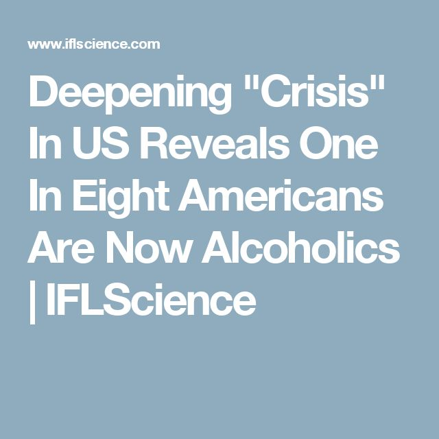 "Deepening ""Crisis"" In US Reveals One In Eight Americans Are Now Alcoholics 