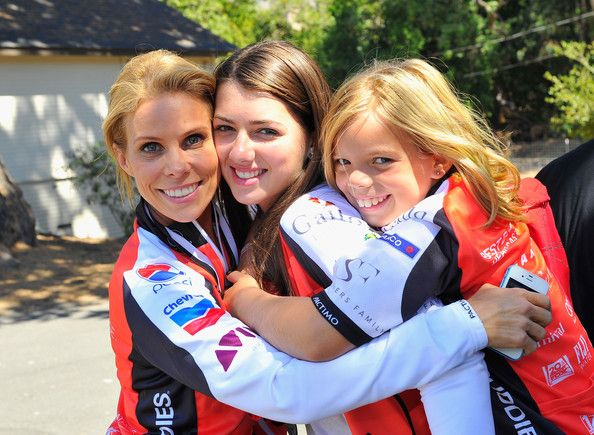 (L-R) Cheryl Hines, Kyra Kennedy(daughter of RFK Jr) and Catherine Rose Young attend Best Buddies Challenge: Hearst Castle Senators Luncheon on September 8, 2012 in San Simeon, California.