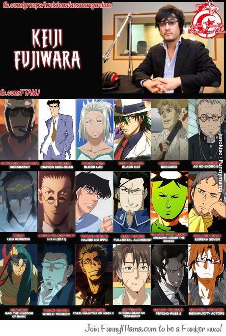 """Keiji Fujiwara he got that """"Dad"""" voice covered!! ;)"""