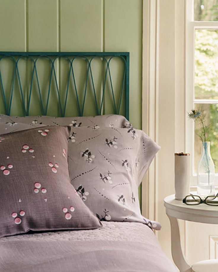 Stenciled Pillows | Martha Stewart