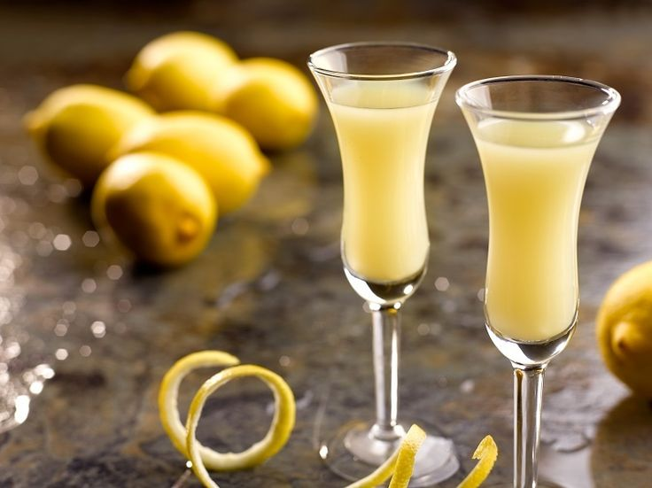 Cheers! Homemade Limoncello at Grand Hyatt Singapore.