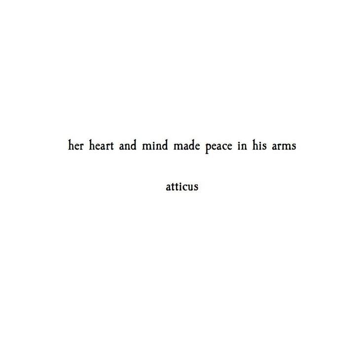 'Peace' @atticuspoetry #atticuspoetry