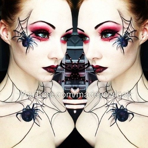 bhcosmetics:  @Emily Boss created a sultry Spider Queen Makeup Look using the Take Me To Brazil Palette! Get this Vampy Halloween Look by ...