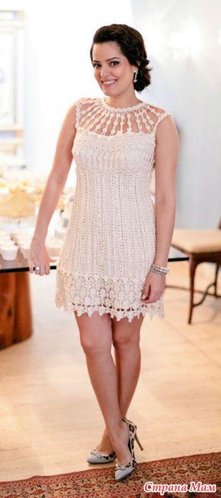 Просто глаз не оторвать-какое классное и необыкновенное платье. Очередной шедевр от Ванессы Монторо. А вот воплощение этого прекрасного платья мастерицей Натало4ка. Мастерица пишет