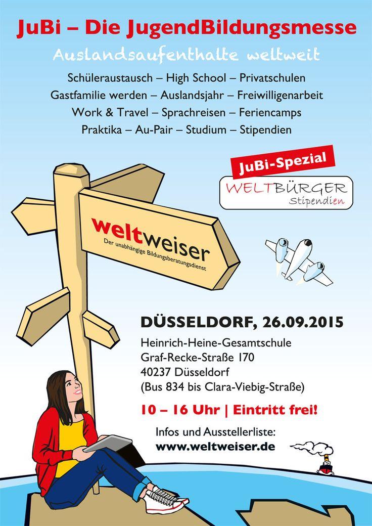 JugendBildungsmesse in #Düsseldorf: 26. September 2015, Heinrich-Heine-Gesamtschule