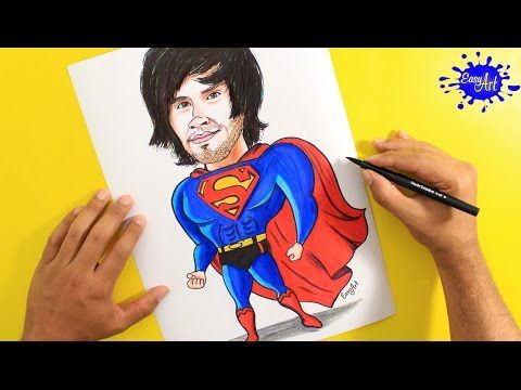 Dibujando a Super German / HolaSoyGerman - JuegaGerman YouTube