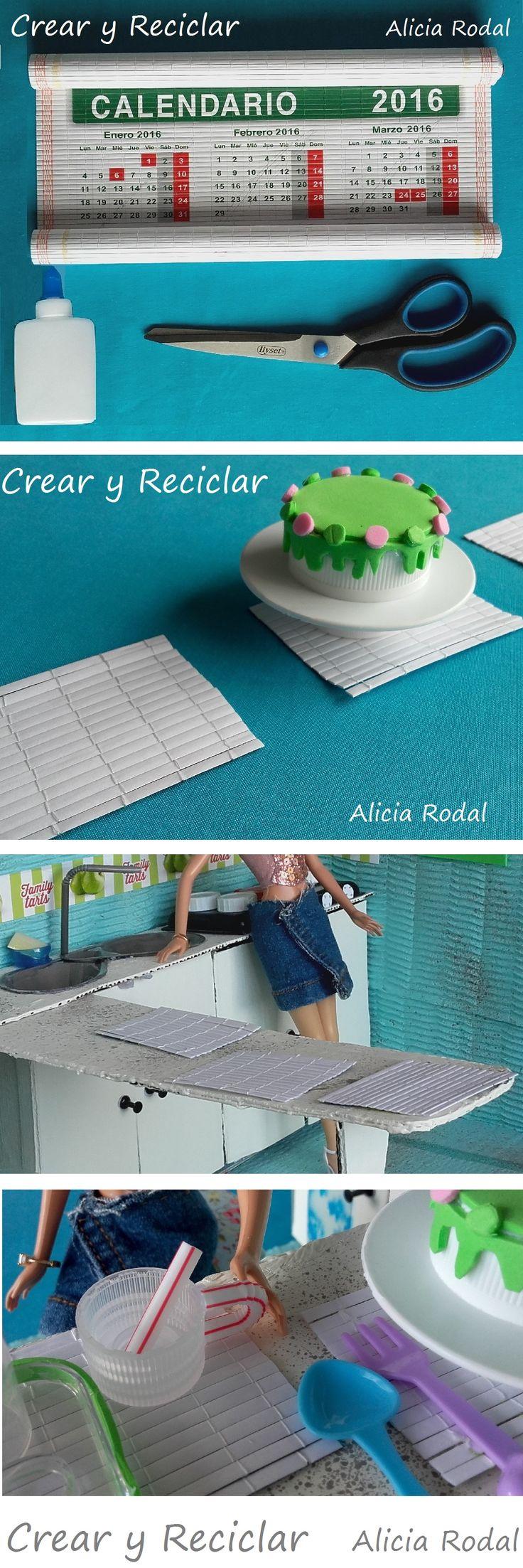 En este tutorial te muestro cómo hacer: un pedestal y una tarta o pastel, mantelitos individuales, y una cantidad de menaje de cocina como: platos, vasos, copas, tazas, ollas, sartenes… y todo con reciclaje!!!! DIY #crearyreciclar  http://crearyreciclar.com/?p=2480