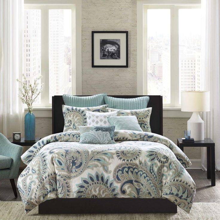 Mira Cotton Printed Duvet Set - Bedding | Ink Ivy #decoration #home #decor #sale #urbanloftonline