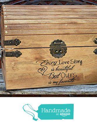 Every Love Story is Beautiful But Ours is my Favorite - Wedding Card Box - Wedding Card Holder - Rustic Wedding Decor - Keepsake Box from Country Barn Babe https://www.amazon.com/dp/B016E2FVKQ/ref=hnd_sw_r_pi_dp_dBAQwbQNA4KTZ #handmadeatamazon