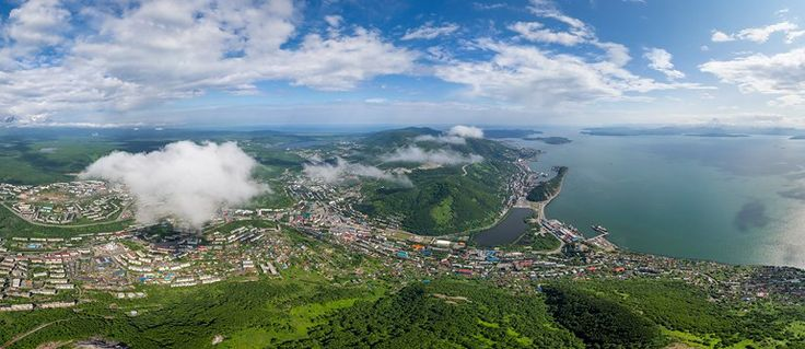 Petropavlovsk-Kamchatsky, Russia - AirPano.com • 360° Aerial Panoramas • 3D Virtual Tours Around the World