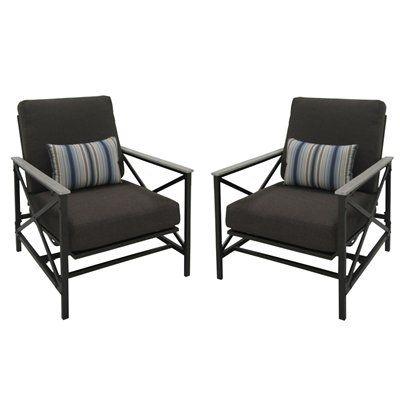 278 Glider Arrowhead Springs Patio Glider Chairs Set Of