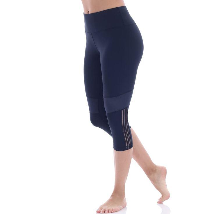 Women's Marika Kendall Training Capri Leggings, Size: Medium, Black