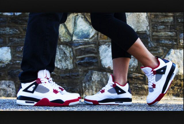 Jordan IV - His & Hers ☺️❤️ Hell yes :) Matching Jordans for Me and William!! love it!