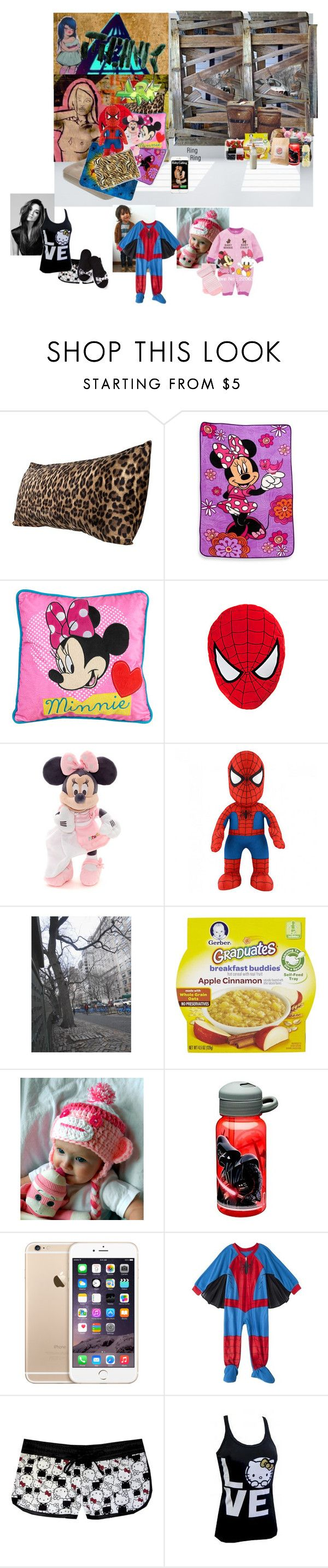 """""""Sleeping in an abandoned building"""" by wonderland-junkie ❤ liked on Polyvore featuring Disney, Bleacher Creatures, POLICE, Gerber, Bebe, Justin Bieber, Hello Kitty and Victoria's Secret"""