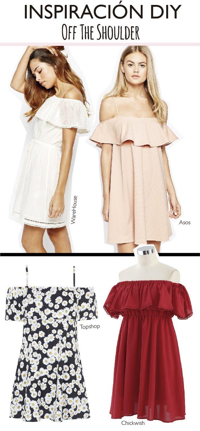 Off the shoulder!! El vestido #DIY más fácil del mundo 3.0 (Dare to ...
