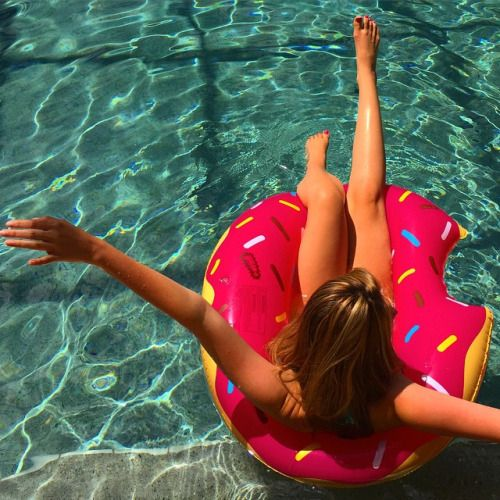 finally found this donut floatie! everyone needs one for summer