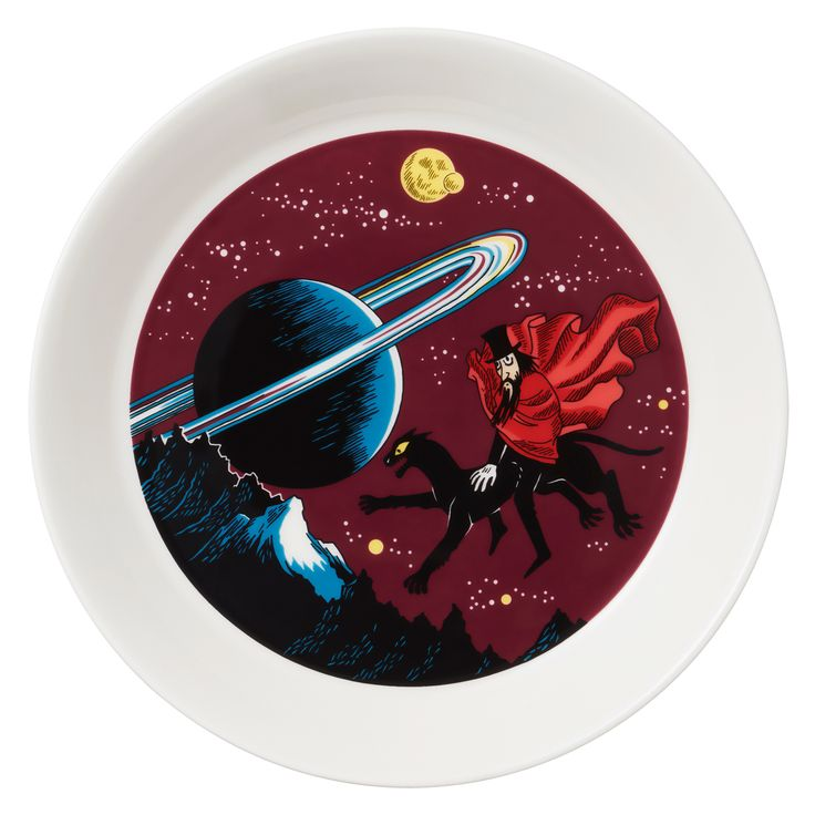 Moomin plate, The Hobgoblin