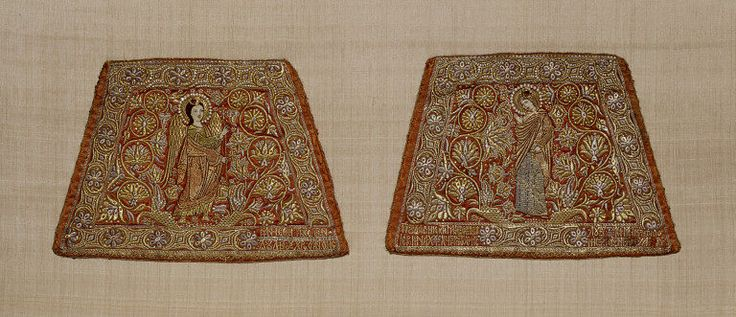 Pair of epimanikia | V&A Search the Collections