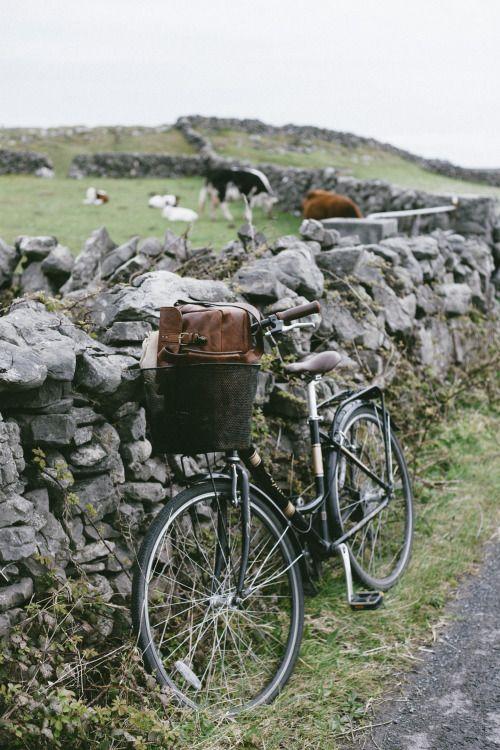 Cycling..my favourite thing to do...  Aran Island, Ireland