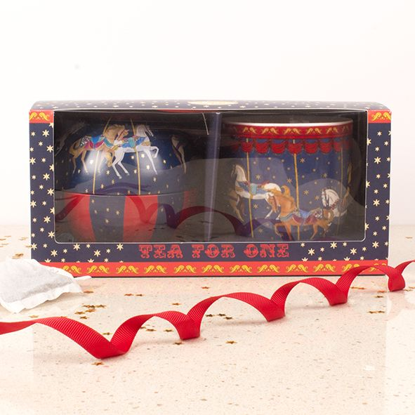 Picture of Carousel - Tea for One Gift Set