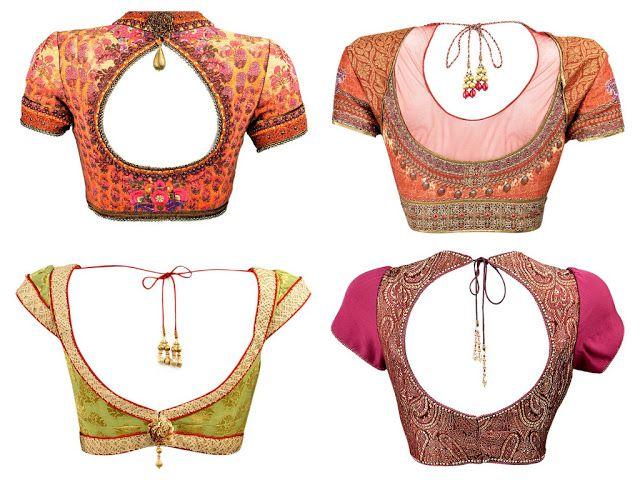 Celebrity Sarees, Designer Sarees, Bridal Sarees, Latest Blouse Designs 2014 South India Fashion