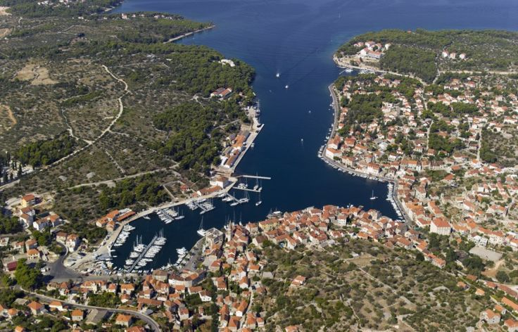 Milna is the largest, best-protected, and the most beautiful harbour on the island of Brač. It is on the island's west coast, in a bay facing the Splitska vrata strait.
