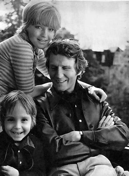 romy schneider and husband harry meyen (1966–1975) with their son David who died at age 14