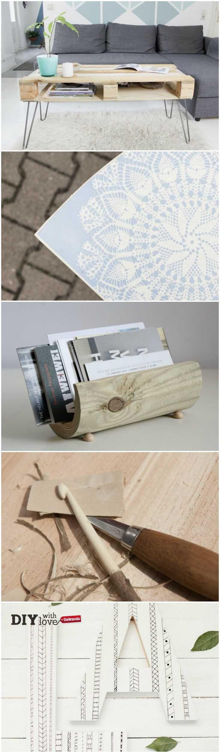 Tanti progetti fai da te con il legno: scegli il tuo preferito! http://it.dawanda.com/tutorial-fai-da-te/fai-da-te-legno/