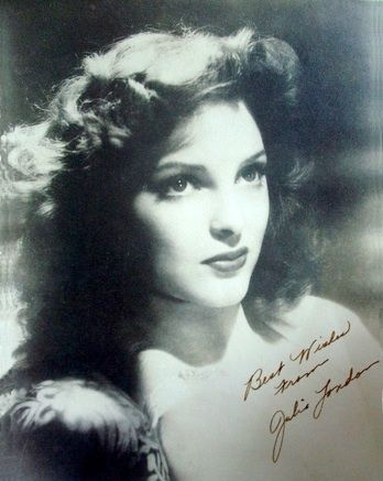 Julie London 1940s pinup photo