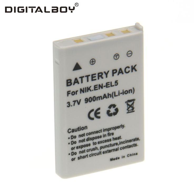 >> Click to Buy << Real Capacity 900mAh 1PCS EN-EL5 EN EL5 ENEL5 Li-ion Digital Camera Battery For Nikon P90 P100 P500 P510 P520 P3 P4 P5000 P5100  #Affiliate