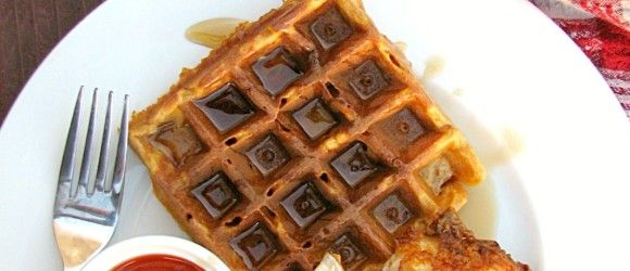 Buttermilk Fried Chicken And Sweet Potato Waffles Recipe ...