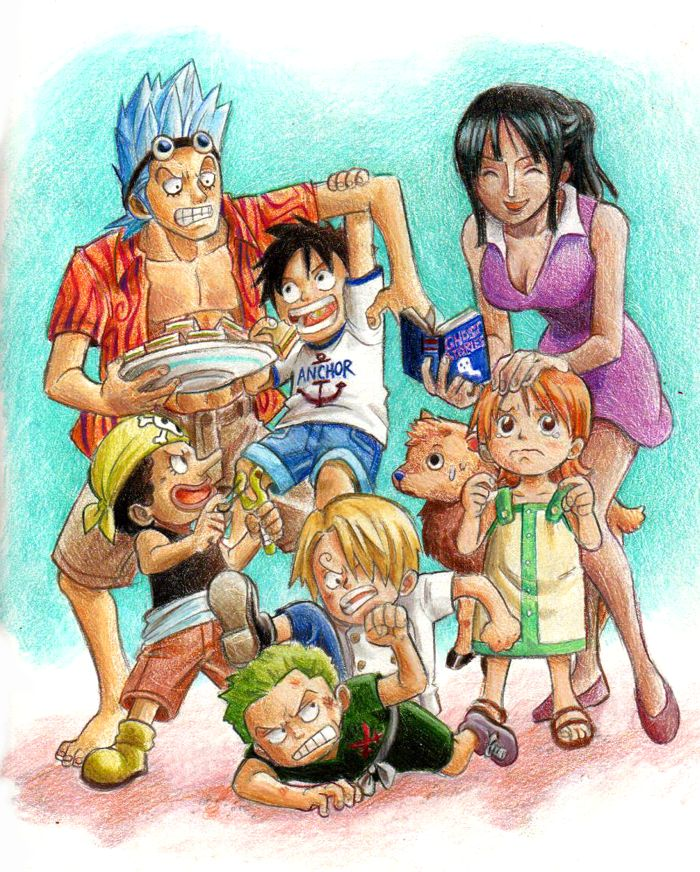 Age Difference | Manga anime one piece, One piece drawing ...