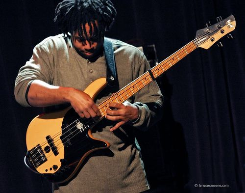 Victor Wooten redefines the word musician.  Regarded as one of the most influential bassists since Jaco Pastorius, Victor is known for his solo recordings and tours and as a member of the Grammy-winning super-group, Béla Fleck & The Flecktones.  He is an innovator on the bass guitar, as well as a talented composer, arranger, producer, vocalist, multi-instrumentalist and simply one of the finest people I know.