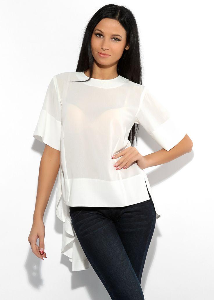 Блузки женские белые