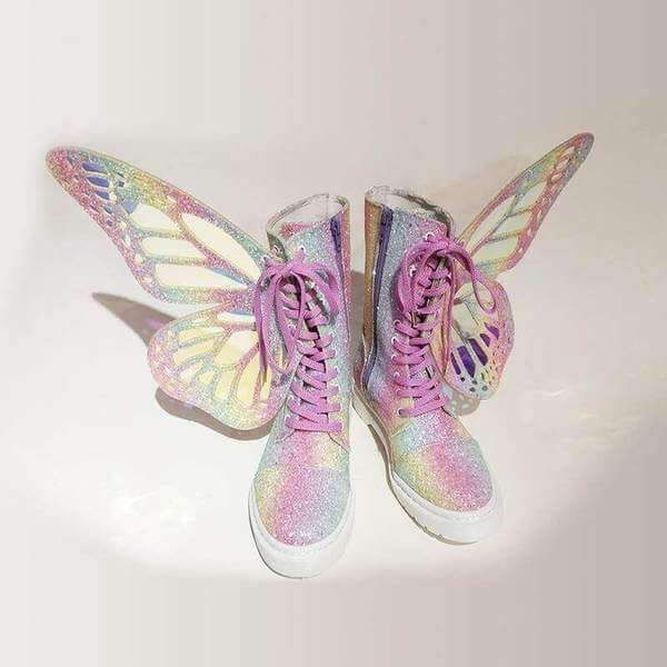 PHANTOM COLORFUL BUTTERFLY WINGS STRAP