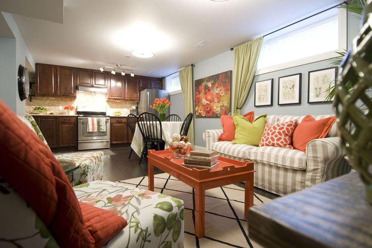 Living room & kitchen - items courtesy of @HomeSense Canada   @Levolor  @Frigidaire® Canada