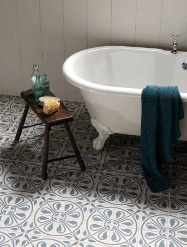 10 Chic Bathroom Tiles