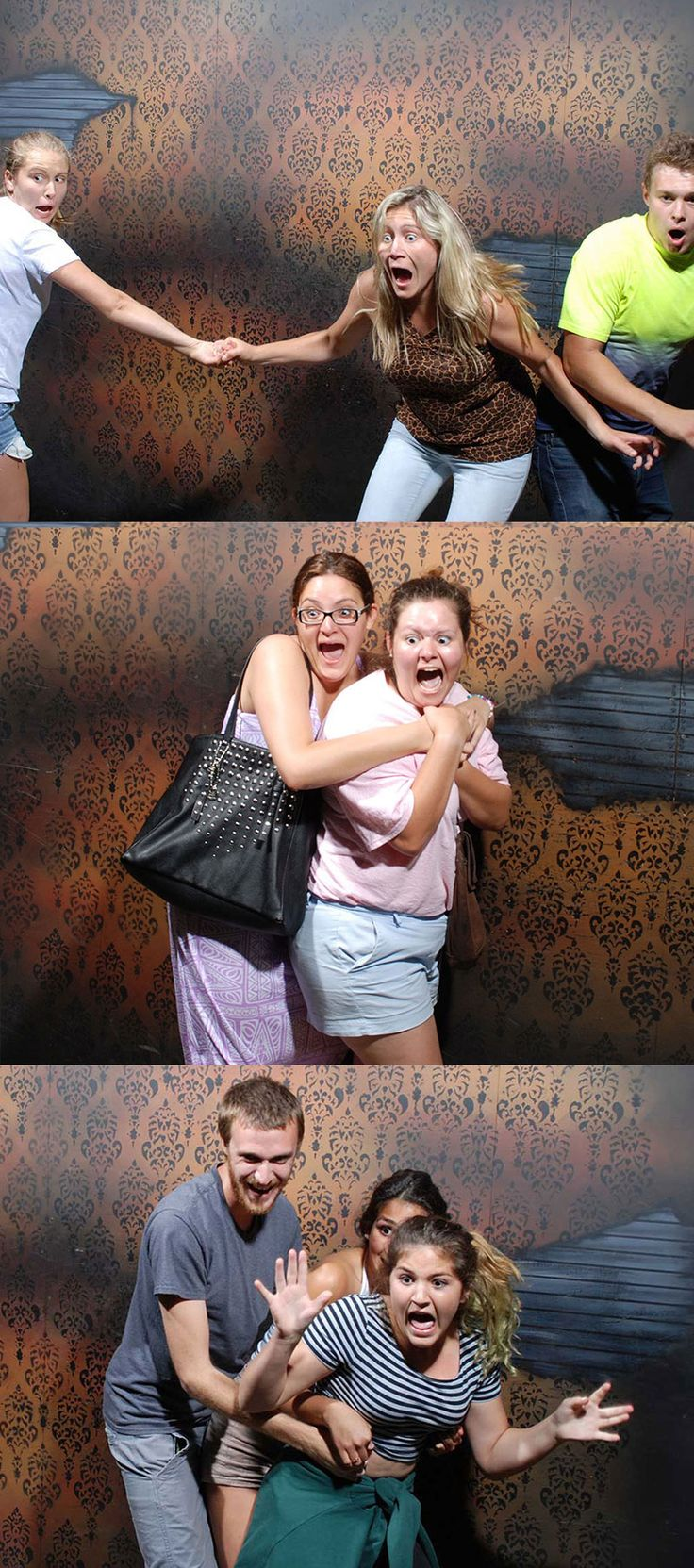 50 hilariously ridiculous haunted house reactions - Check Out The Top Fear Pics For This Week Of October Http
