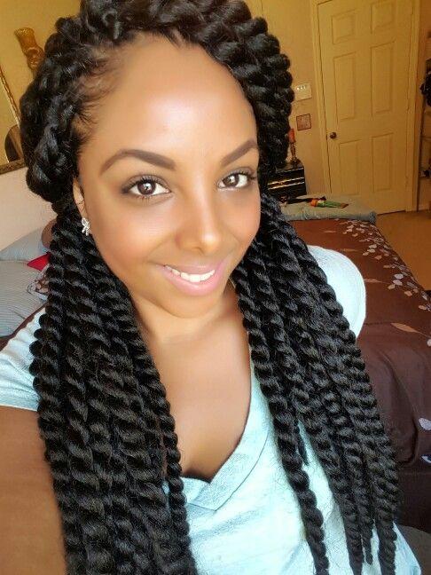 Crochet twists using Janet Mambo Twist @iiheartsushi