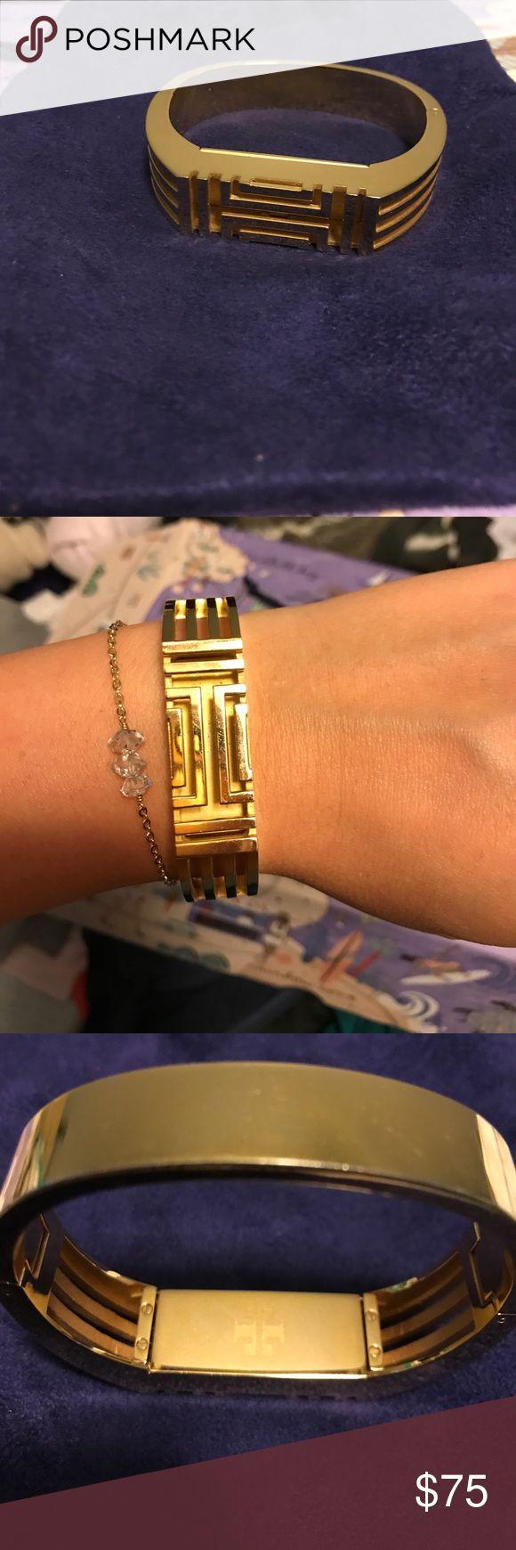 Tory Butch Fitbit bracelet (FITBIT NOT INCLUDED) Gold Tory Burch Fitbit Bracelet Tory Burch Jewelry Bracelets