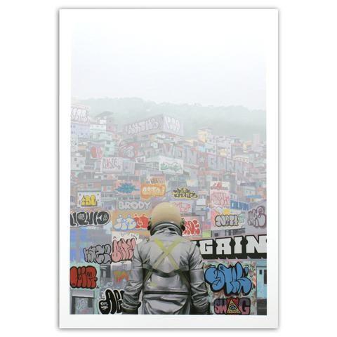Graffiti City (Print) - Station 16 Gallery