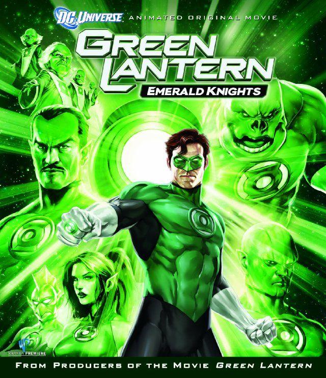 Green Lantern: Emerald Knights - decent watch..