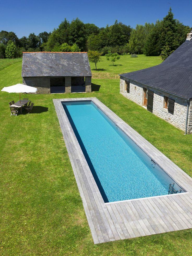 Le couloir de nage par l 39 esprit piscine 17 x 3 25 m for Construction piscine 17