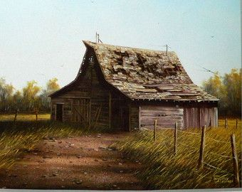 Gene Specks Painting the Barn | Painting Book Art Sue Scheewe Prese nts Old Friends by Gene Waggoner ...