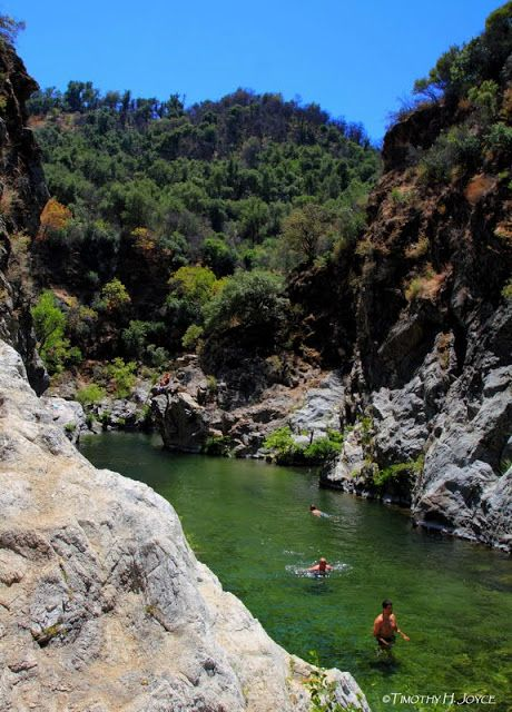 Swimming Holes of California: Arroyo Seco - The Gorge